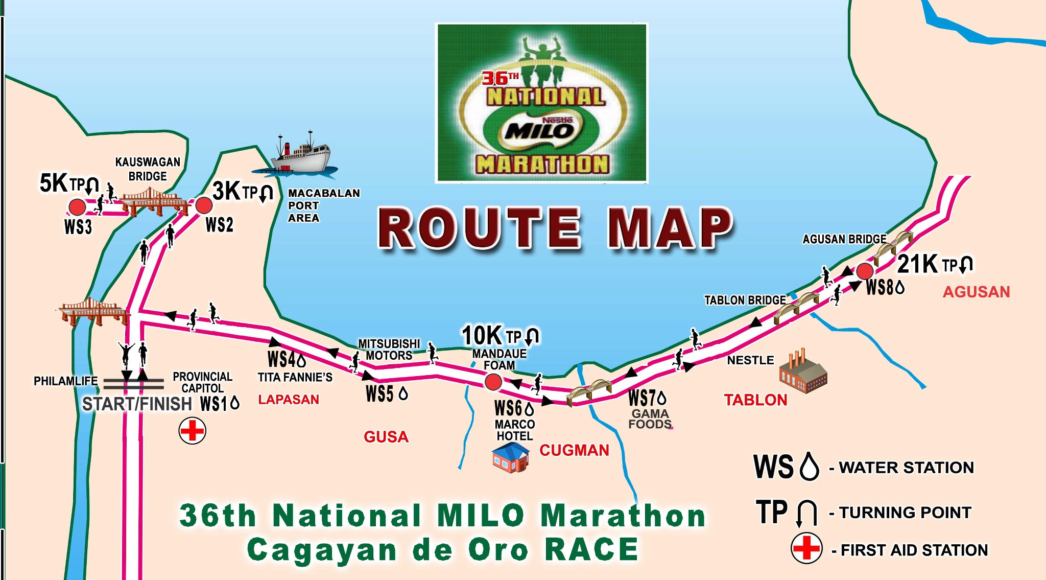 36th National MILO Marathon 2012 Cagayan de oro