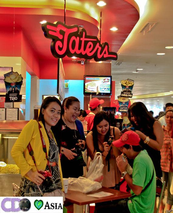 Taters in CDOX Taters cagayan de oro, taters Centrio Ayala Mall, Centrio Ayala Mall