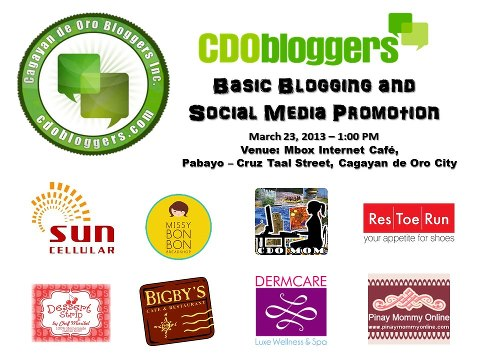 CDO BloggersX basic blogging and social media, Cagayan de Oro Bloggers, how to start blogging, blogging 101 workshop