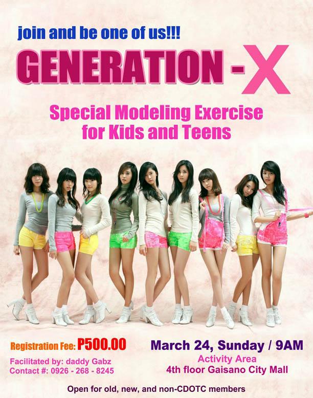 Cagayan de Oro Modeling Workshop, CDO Modeling Workshop, cdo guide, Generation X, Cagayan de Oro talents, modeling workshop