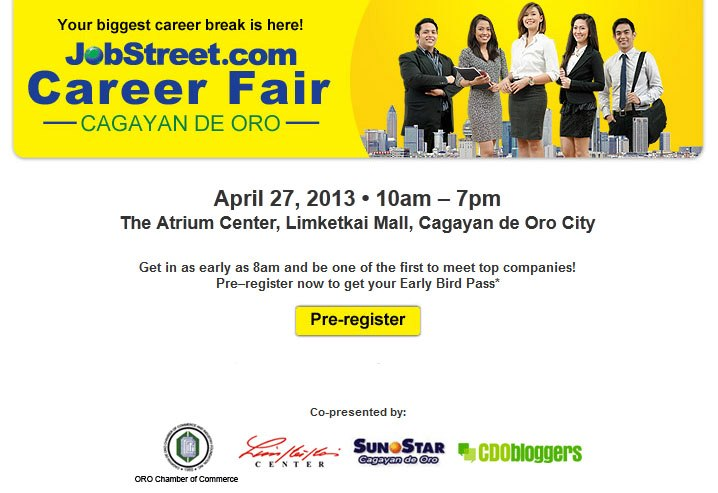 JobStreet.com Cagayan de Oro JobStreet.com Career Fair 2013 at Cagayan de Oro