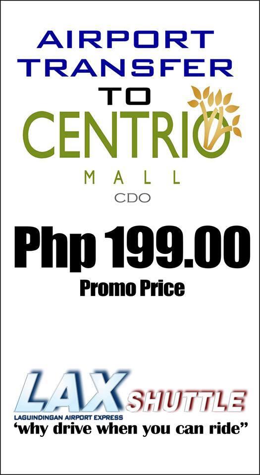 Laguindingan International Airport, Laguindingan Airport, cagayan de oro Laguindingan Airport, Centrio Ayala Mal