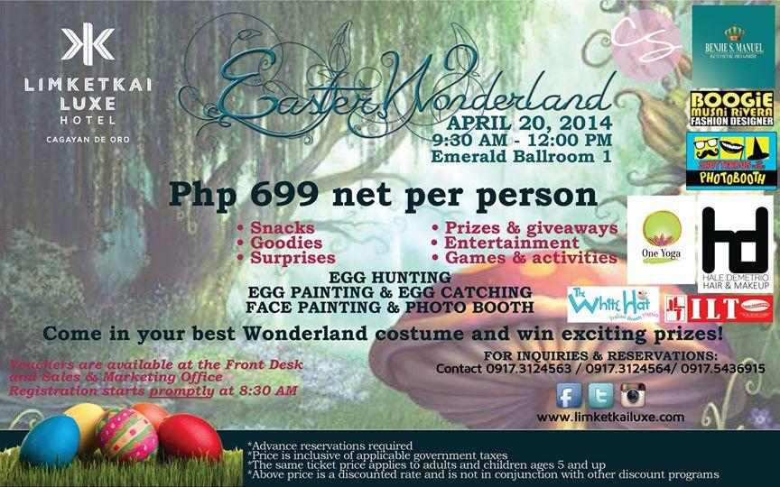 Easter Wonderland Limketkai Luxe Hotel, Limketkai Luxe Hotel, Holy Week, Limketkai Luxe Hotel Cagayan de Oro, list of hotels in Cagayan de Oro, 5 star hotel in Cagayan de Oro, 5 star hotel in CDO, CDO Dev, CDO Development, Capturing Smiles Photography
