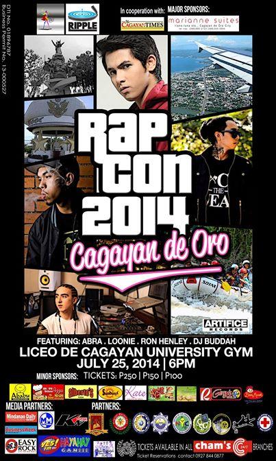 RAPCON 2014, Fliptop cagayan de Oro, FLiptop Mindanao,