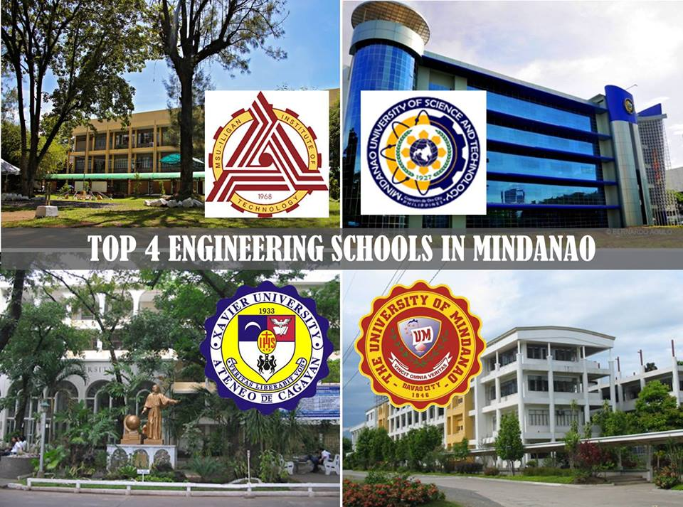 Mindanao University of Science and Technology, Xavier University, The University of Mindanao and Mindanao State University-IIT, MSU-IIT, MUST, XU, UM, Cagayan de Oro, Top Schools in Mindanao