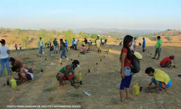 Cagayan de Oro Dumpsite Planted About 2,000 Tree Seedlings