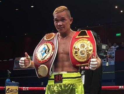 Kagay-Anon Boxer Albert Pagara Trains with UFC Champ Rafael dos Anjos