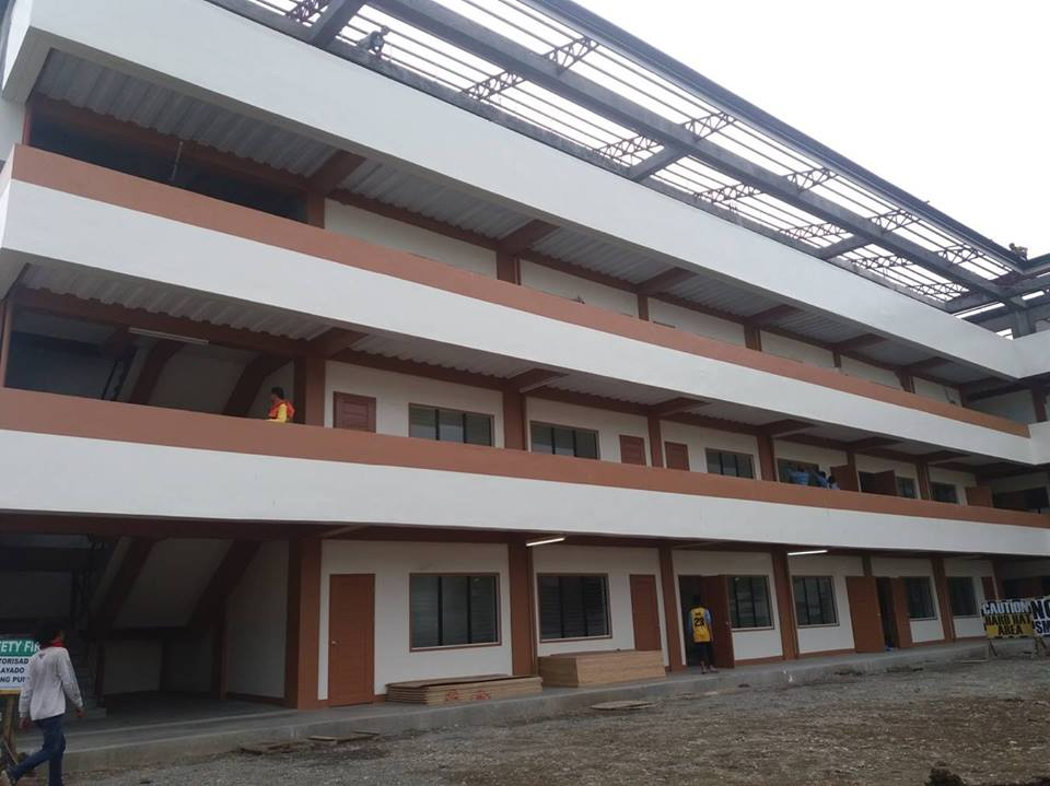 New Home Of The 4 000 Students At Cagayan De Oro City
