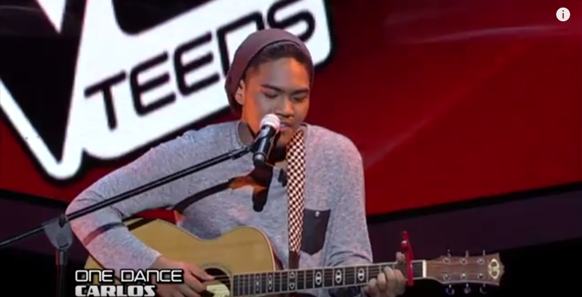 Carlos Navea the Voice Teens