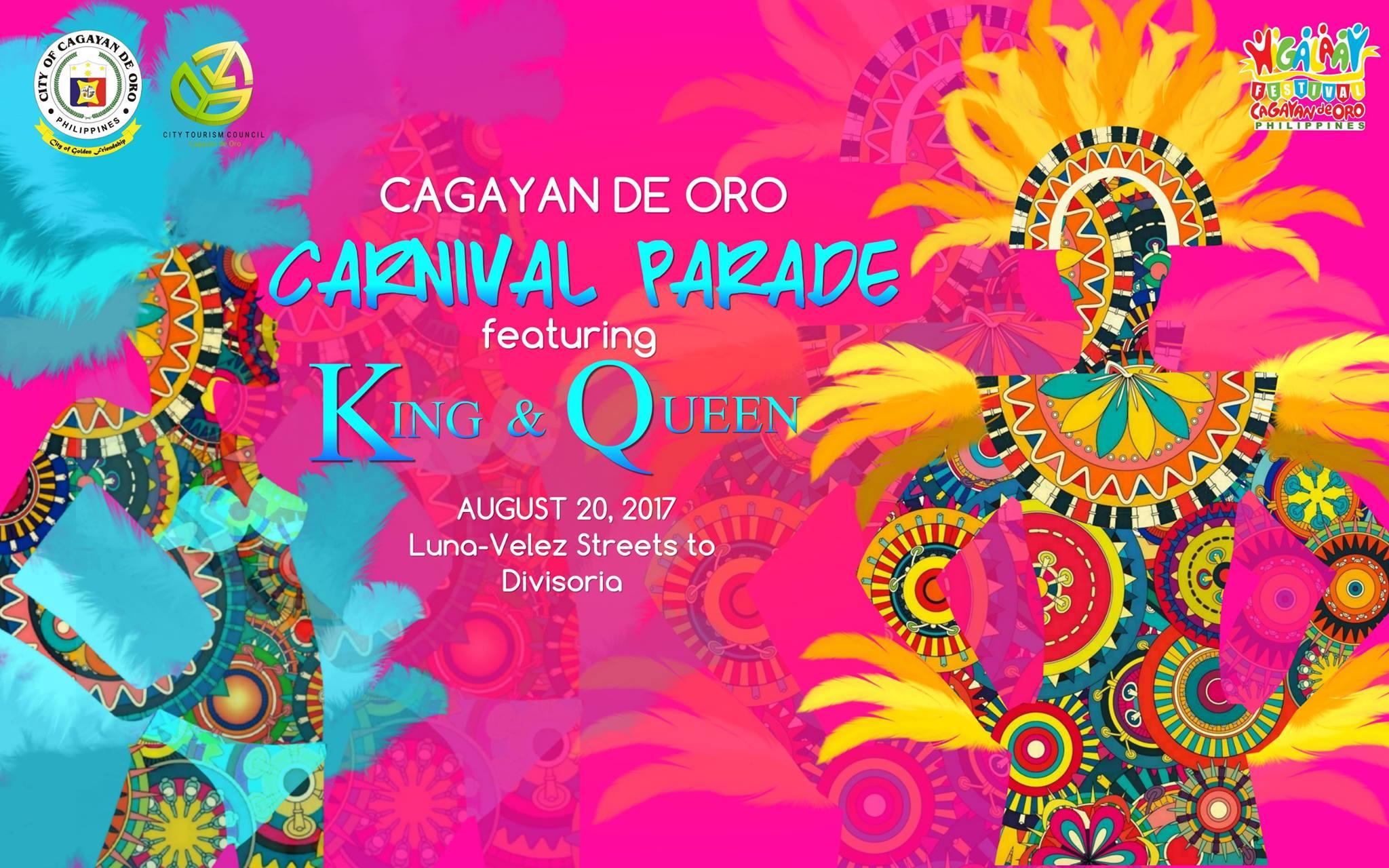 Cagayan de Oro Carnival Street Dance Schedule