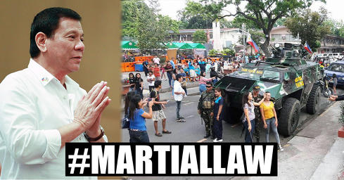 Military says martial law working to its advantage
