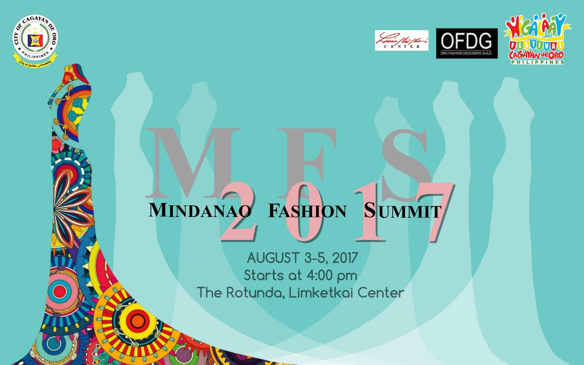 Mindanao Fashion Summit 2017, Mindanao Fashion Summit