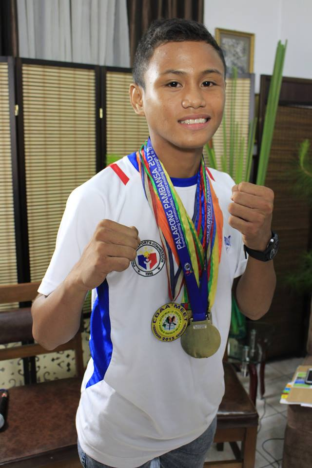 ASBC Asian Jrs Boxing Championships, amateur boxer from Cagayan de Oro